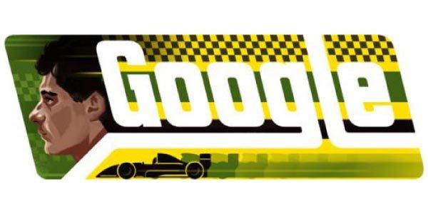 Un Doodle en hommage à Ayrton Senna