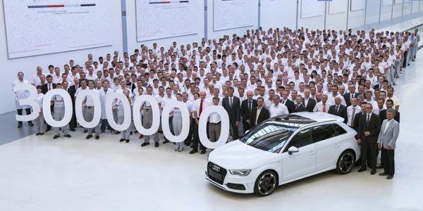 Déjà un million d'Audi vendues en 2013