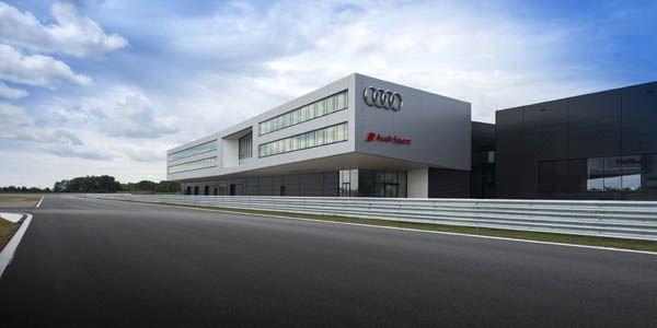 Audi inaugure un nouveau complexe hi-tech
