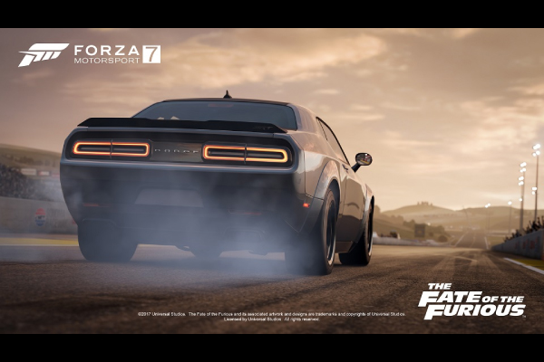 Un pack The Fate of the Furious pour Forza Motorsport 7