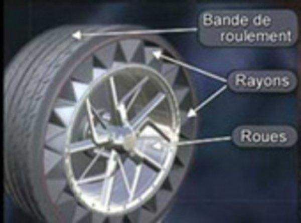 un pneu sans air chez michelin actualit automobile motorlegend. Black Bedroom Furniture Sets. Home Design Ideas