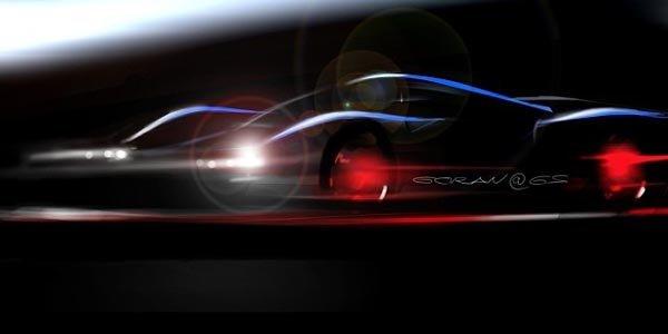Un teaser pour la Supercar SCG 003