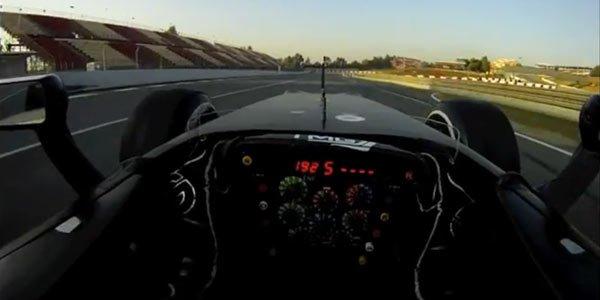 Un tour en F1 à Barcelone