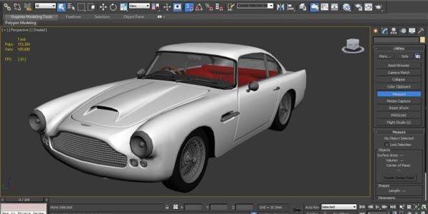 Une Aston DB4 née de l'impression 3D