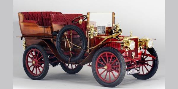 Une Clément Talbot 1903 vendue à Londres