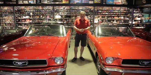 L'homme qui possédait plus de 5 500 Ford Mustang