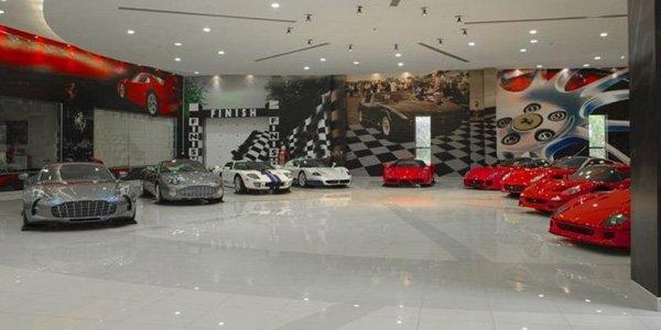 Une fascinante collection de supercars !