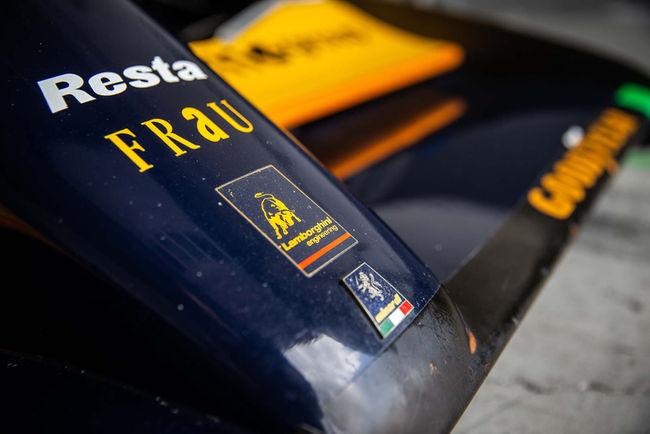 Le Lamborghini Polo Storico restaure un châssis Minardi F1