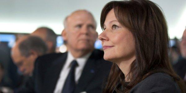 Une femme prend la direction de GM