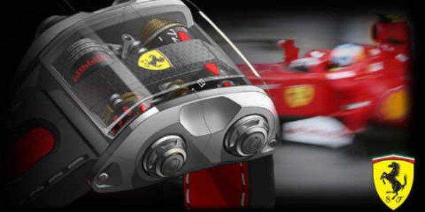 Une Ferrari au poignet