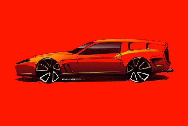 Un hommage à la Ferrari 250 GT Breadvan en préparation
