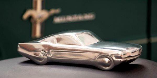 La Ford Mustang s'offre une sculpture pour ses 50 ans