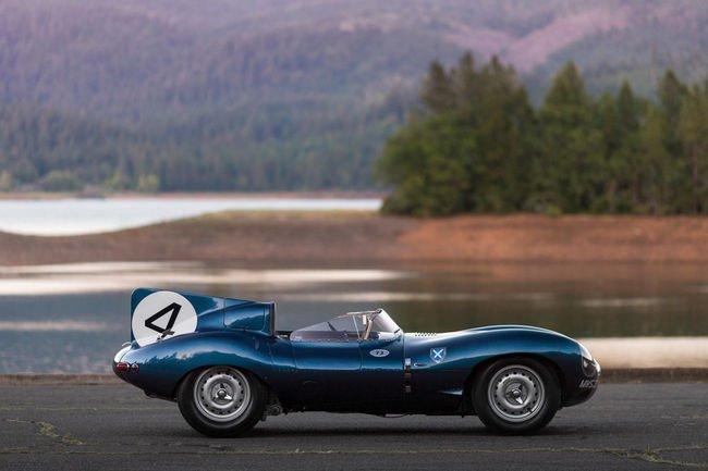 La Jaguar lauréate des 24H du Mans 1956 aux enchères