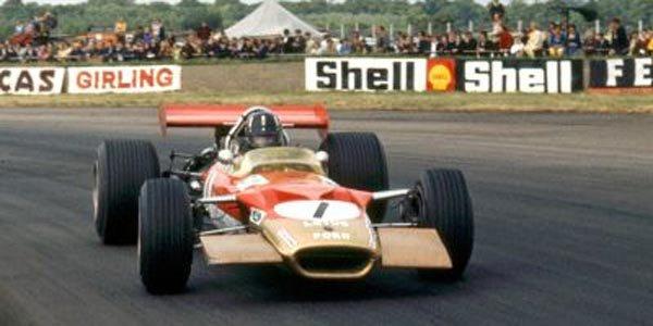 Une Lotus 49B ex-Hill aux enchères