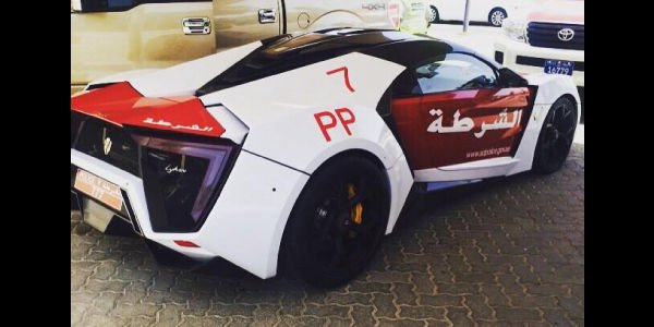 Une Lykan Hypersport pour la Police d'Abu Dhabi