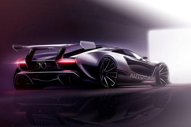 McLaren prépare une Hypercar 100% électrique