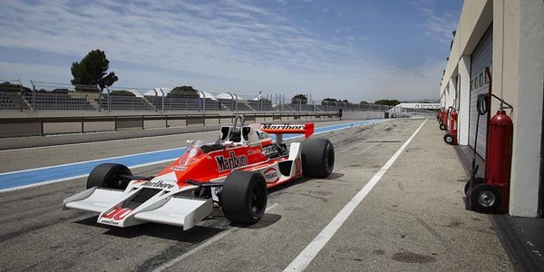 La McLaren M26 de James Hunt en vente !