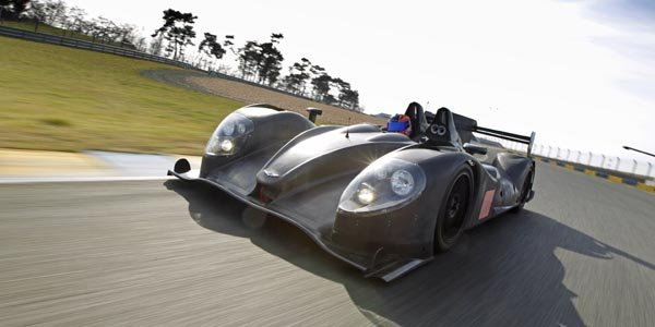 Une Morgan LMP2 en Asian Le Mans Series