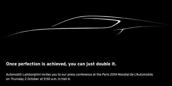 Une mystérieuse Lamborghini au Mondial de Paris