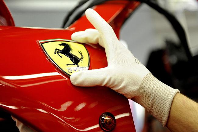 Ferrari innove avec une nouvelle peinture