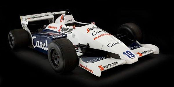 Une Toleman F1 ex-Ayrton Senna à vendre