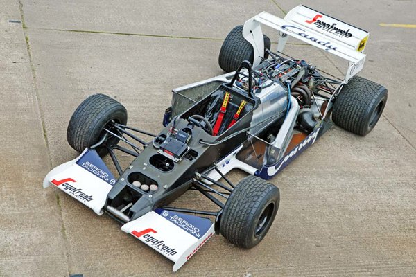 une toleman f1 ex ayrton senna vendre actualit automobile motorlegend. Black Bedroom Furniture Sets. Home Design Ideas