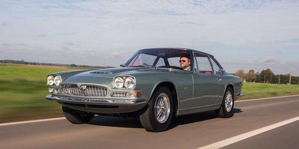 Une rare sélection de voitures pour Bonhams à Chantilly