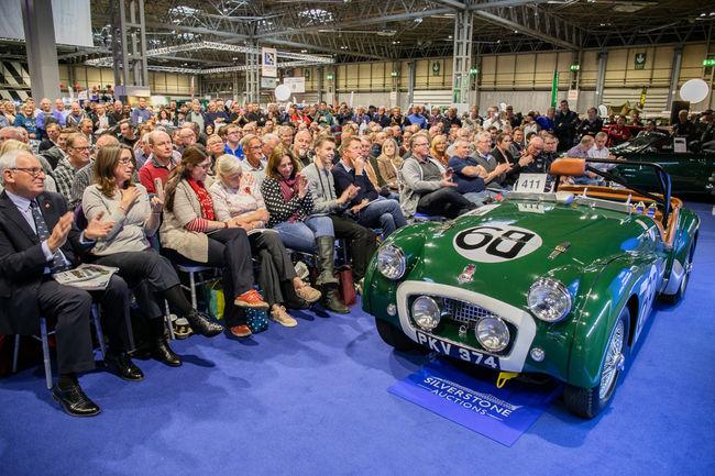 Silverstone Auctions : record mondial à Birmingham