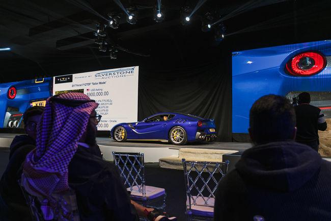 Vente record pour Silverstone Auctions à Riyad