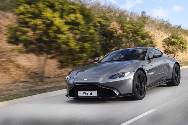 Ventes : bon début d'année pour Aston Martin