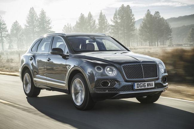 Ventes 2016 : Bentley maintient le cap