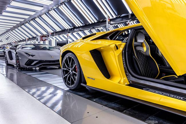Ventes : début d'année record pour Lamborghini