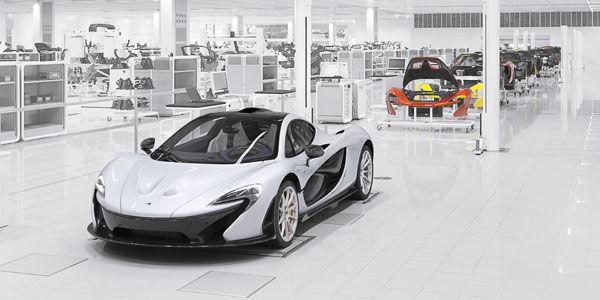 Ventes record pour McLaren en 2014
