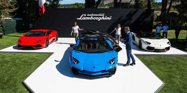 L'année 2015 de Lamborghini en images