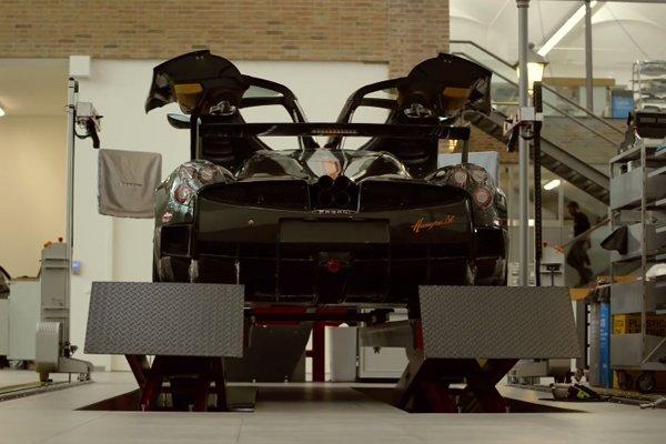 Découvrez la nouvelle usine de Pagani Automobili