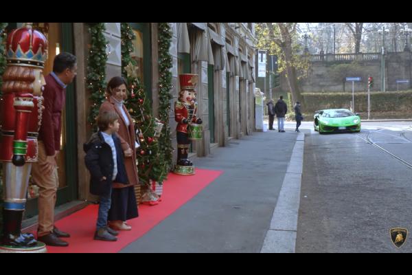 Lamborghini Real Lover : la magie de Noël opère toujours