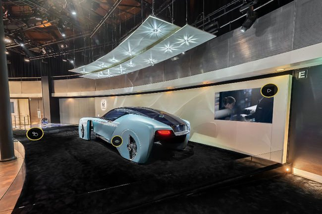 Visite virtuelle de l'exposition BMW Iconic Impulses