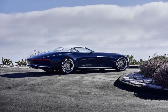 Concept Vision Mercedes-Maybach 6 Cabriolet