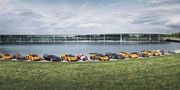 Visitez le McLaren Technology Center !