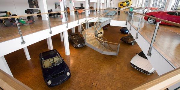 Visite virtuelle du musée Lamborghini