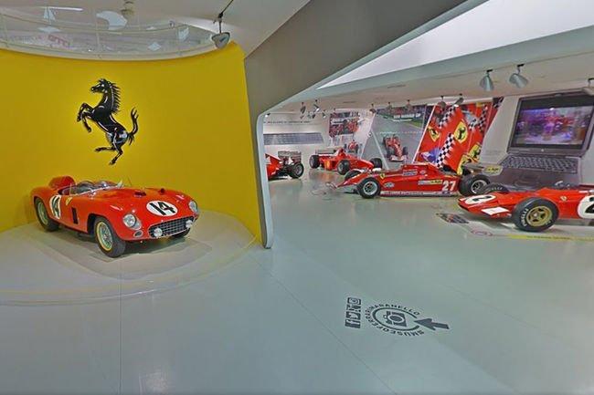 Visite virtuelle des musées Ferrari