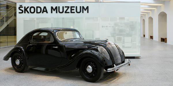 Visite virtuelle du Musée Skoda