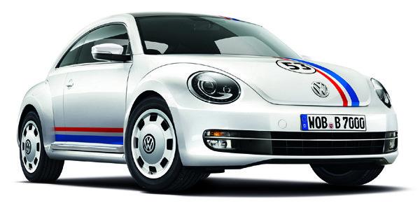 La VW Coccinelle Herbie est de retour !