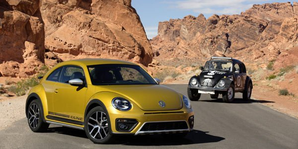 La New Beetle Dune présentée à Los Angeles