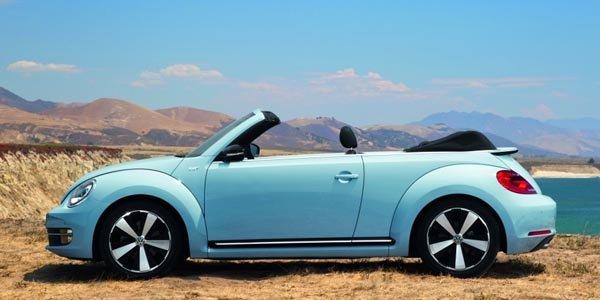 VW Coccinelle Cabriolet : les tarifs