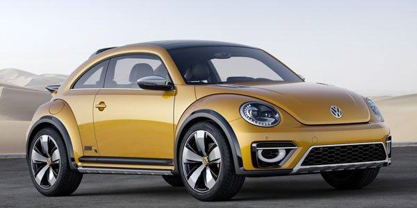 Détroit 2014 : VW Beetle Dune Concept