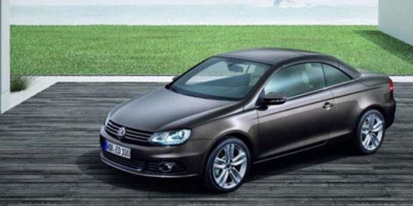 La Volkswagen Eos retouchée