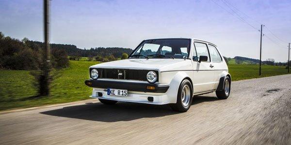 ABT ressort la Golf 1 GTI pour les 40 ans de la compacte