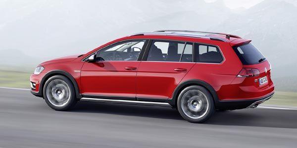 Une VW Golf Alltrack attendue au Mondial