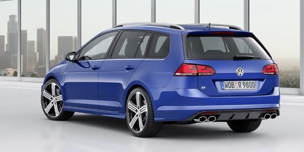 La Volkswagen Golf R en version break